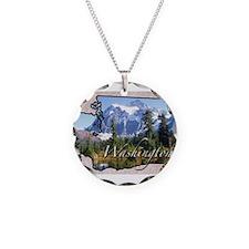 Cute Washington state Necklace