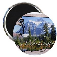 Cute Washington Magnet