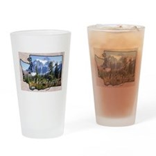 Unique State Drinking Glass