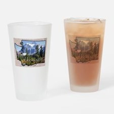 Cute Washington Drinking Glass