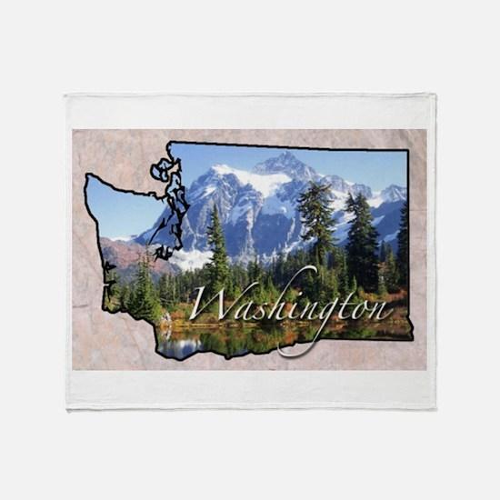 Unique Washington state Throw Blanket