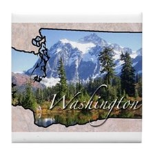 Unique Washington Tile Coaster