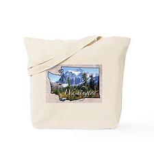Cute Washington Tote Bag