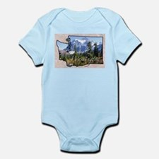 Funny Washington Infant Bodysuit