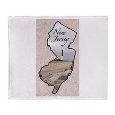 Funny New jersey Throw Blanket