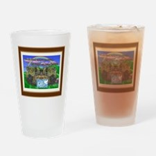 Rainbow Bridge Drinking Glass