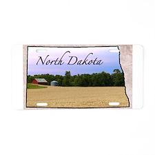 Cute North dakota state Aluminum License Plate