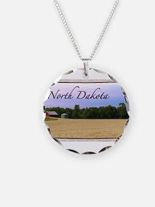 Cute North dakota Necklace