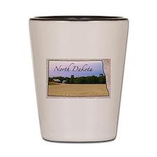 Cute North dakota Shot Glass