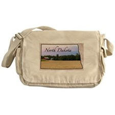 Cute North dakota Messenger Bag