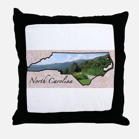 Unique North carolina Throw Pillow