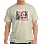 Americana 1: Home of the Brav Ash Grey T-Shirt