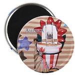 Americana 1: Home of the Brav Magnet