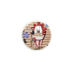 Americana 1: Home of the Brav Mini Button