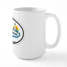 Lewes Beach DE - Oval Design Mug