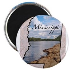 Cute Mississippi Magnet