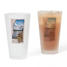 Cute Mississippi Drinking Glass