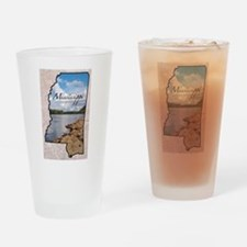 Unique Mississippi Drinking Glass