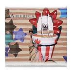 Americana 1: Home of the Brav Tile Coaster