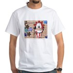 Americana 1: Home of the Brav White T-Shirt