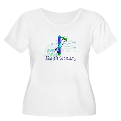 Dialysis III Women's Plus Size Scoop Neck T-Shirt