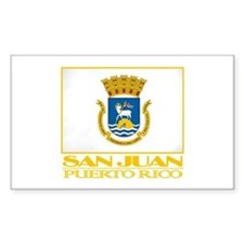 San Juan Flag Decal