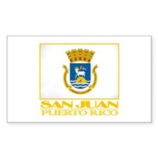 San Juan Flag Stickers