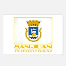 San Juan Flag Postcards (Package of 8)