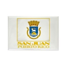 San Juan Flag Rectangle Magnet