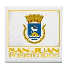 San Juan Flag Tile Coaster