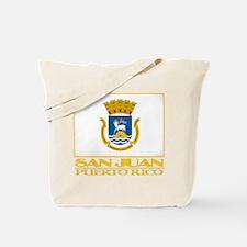 San Juan Flag Tote Bag