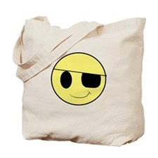 Pirate Smiley 1 Tote Bag