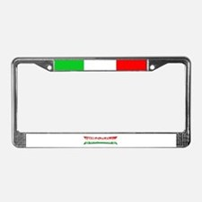 Funny Italiano License Plate Frame