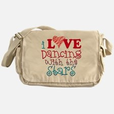 I Love Dancing wtih the Stars Messenger Bag