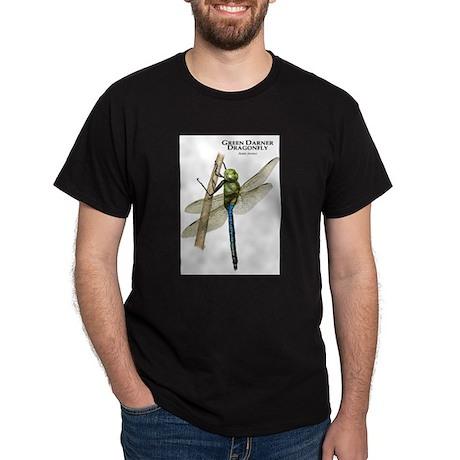 Green Darner Dragonfly Dark T-Shirt