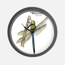 Green Darner Dragonfly Wall Clock