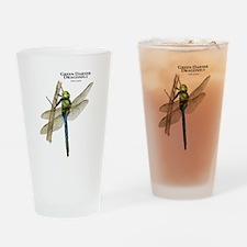 Green Darner Dragonfly Drinking Glass