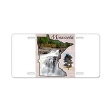 Funny Minnesota Aluminum License Plate