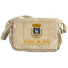 San Juan Flag Messenger Bag