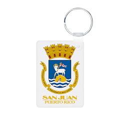San Juan COA Keychains