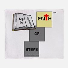 HIA Homeless Faith design Throw Blanket