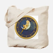 THE LADY IN THE MOON Tote Bag