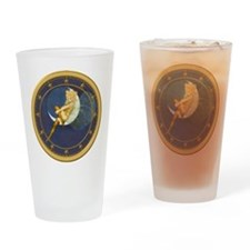 THE LADY IN THE MOON Drinking Glass