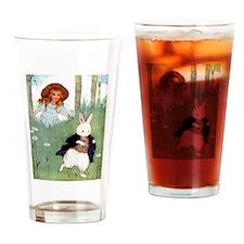 THIS WAY TO WONDERLAND Drinking Glass
