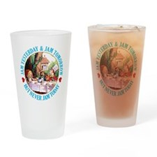 MAD HATTER'S DIET RULE Drinking Glass