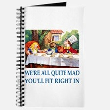 WE'RE ALL QUITE MAD Journal