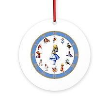 ALL AROUND ALICE Ornament (Round)