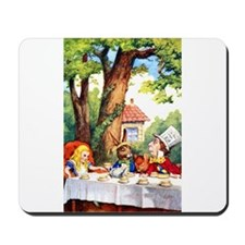 MAD HATTER TEA PARTY Mousepad