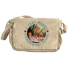 A VERY MERRY UNBIRTHDAY Messenger Bag