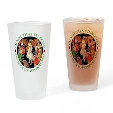 I'VE BEEN TO WONDERLAND - GRE Drinking Glass